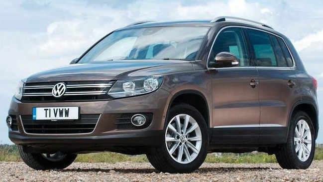VW Tiguan 4Motion TDI